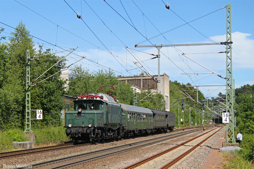 E94 088 mit DPE 52398 Homburg(Saar) Hbf - St.Ingbert (Sdl.), Rohrbach(Saar) 10.06.2017
