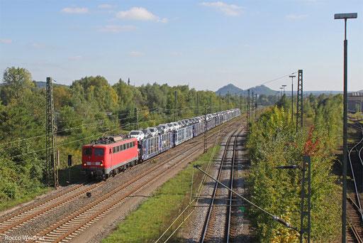 140 833 mit KT 42564 Saarbrücken Rbf Nord - Dillingen Ford, Bous(Saar) 30.09.2013