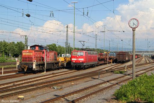 181 218 mit EZ 51922 Mannheim Rbf Gr.G - Saarbrücken Rbf Nord, 07.07.2017