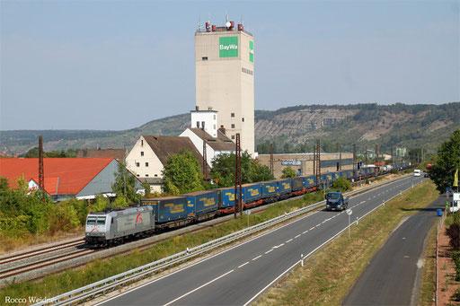 185 531 mit DGS 43967 Wanne-Eickel Wof - Wien Freudenau H