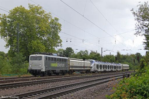 139 558 mit DbZ 92882 Fulda - Luisenthal(Saar) (Sdl.), 11.09.2017