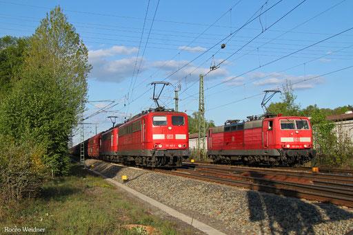 DT 151 149 + 151 167 mit GM 48727 Amsterdam Westhaven - Dillingen Zentralkokerei, Einsiedlerhof 09.05.2017