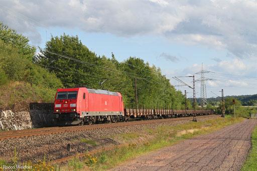 185 302 mit GM 60411 Kehl - Ehrang Nord, Ensdorf(Saar) 30.07.2017