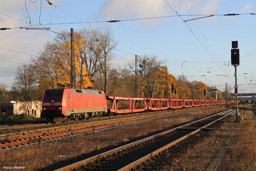 152 047 mit XP 52935 Bremerhaven Kaiserhafen - Kornwestheim Rbf NW, Frankfurt Ost Gbf 19.11.2017