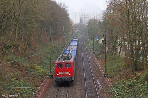 140 790  mit EK 55891 Fürstenhausen - Saarbrücken Rbf, 11.12.13