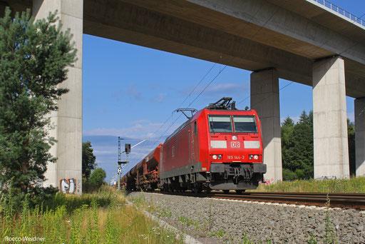 185 144 mit XP 63028 Hagenbach - Ehrang Nord, Landstuhl 03.08.2013