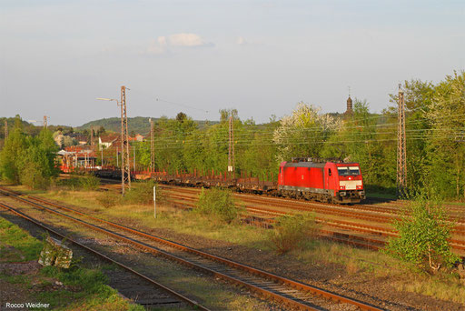 186 339 mit GM 60426 Neunkirchen (Saar) Hbf - Völklingen, Sulzbach (Saar) 21.04.2018