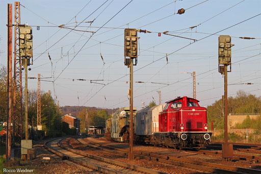 212 229 mit DGS 52443 Bexbach - Wittlich (Sdl.), Landsweiler-Reden 20.04.2017