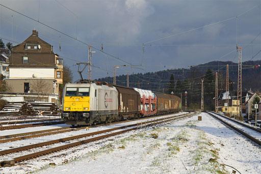 186 174 mit EZ 44262 Mannheim Rbf Gr.N - Gevrey-Triage/F, Dudweiler 01.12.2017