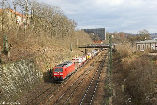 185 164 mit KT 41211 Bayonne/F - Köln-Eifeltor Bez.III, Saarbrücken 20.02.2013