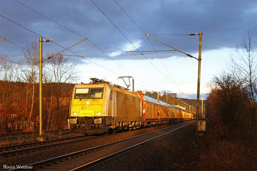 186 312 mit GA 49206 Einsiedlerhof - Cerbère/F, Neunkirchen(Saar) 22.02.2017