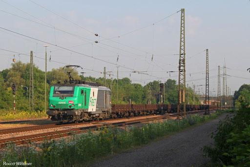 BB37015 mit DGS 44254 Dillingen Hochofen Hütte - Thionville/F (Dunkerque), Bous(Saar) 22.06.2017