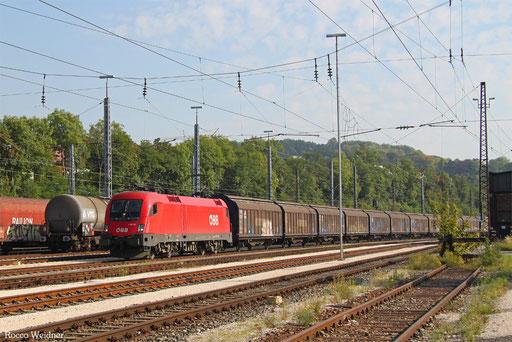 1116 150 mit DGS 95000 München Ost Rbf - Kehl, Ulm Rbf 23.09.2017