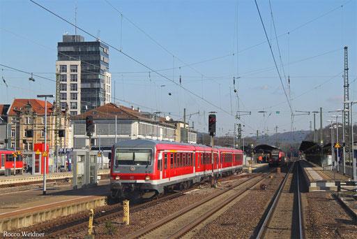 DT 628 467 + 628 477 als RB 12872 Kaiserslautern - Kusel, 16.02.2017