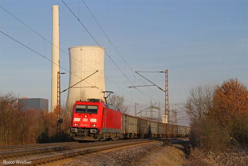 185 378 mit EZ 45661 Ehrang Nord - Homburg(Saar), Ensdorf 30.11.2016