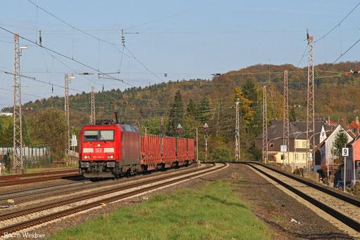 185 234 GM 62529  Dradenau - Ehrang Nord (Hagondange) (Sdl. Walzdraht aus Eisen), Dudweiler 31.10.2017