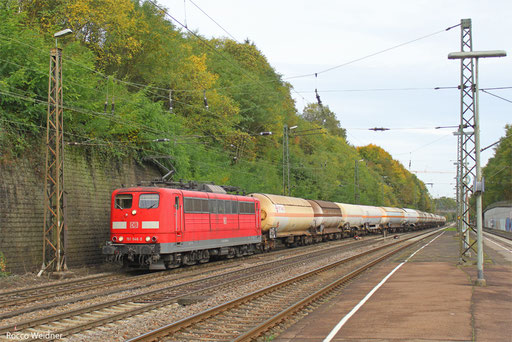 151 046 mit GC 98981 (Beograd/SBR) Nürnberg Rbf Ausf. - Forbach/F (Sdl. EKW), Saarbrücken 21.10.2013