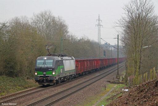 193 239 mit DGS 95515 Passau Hbf - Dillingen(Saar) (Sdl.), Altenkessel 08.02.2018
