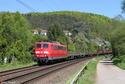 151 148 mit EZ 45664 Gremberg Gsf - Bettembourg/L, Scheidt(Saar) 10.05.2017