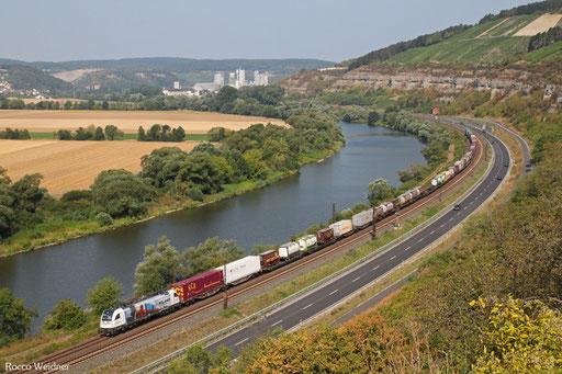 1216 955 mit DGS 41133 Rheinhausen - Budapest Rakasr