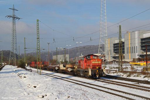 294 730 mit EK 55451 Völklingen Walzwerk - Saarbrücken Rbf Nord, Völklingen 02.12.2017