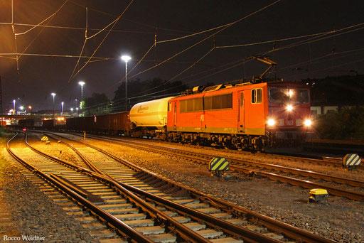 155 239 mit EK 55885 Saarbrücken Rbf West - Neunkirchen(Saar) Hbf, 20.09.2016