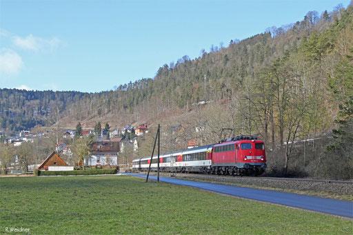 115 383 mit IC 282 Zürich HB - Stuttgart Hbf