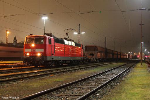 181 205 mit EK 55443 Saarbrücken Rbf West - Dillingen(Saar), 21.12.2016