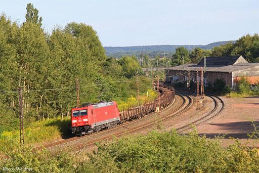 185 372 mit GM 60411 Kehl - Ehrang Nord, Bous(Saar) 14.08.2016