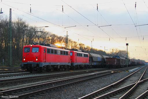 DT 140 789 + 140 815 mit DGS 95599 Basel Bad Bf - Erfurt Gbf (Sdl.), Karlsruhe Gbf 01.12.2016