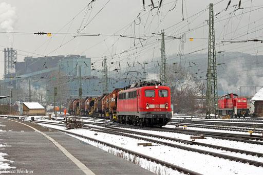 139 132 mit GM 61829 Völklingen - Dillingen Hochofen Hütte, 25.02.2013