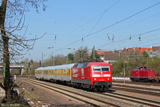120 153 mit ST 94361 Trier Hbf - Saarbrücken Hbf (Sdl.), Saarbrücken-Burbach 28.03.2017
