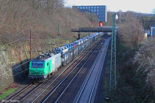 BB37038 mit DGS 44420 Saarbrücken Rbf Nord -  Forbach/F (Sdl. PKW), 08.01.2016
