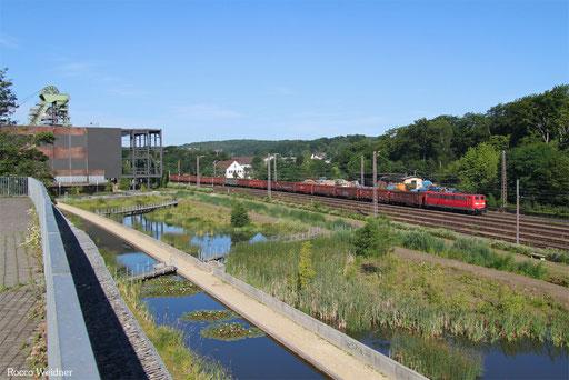 151 082 mit EZ 51927 Dillingen(Saar) - Mannheim Rbf Gr.M, Landsweiler-Reden 05.07.2017