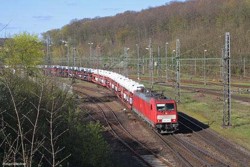 186 329 mit EZ 49266 Einsiedlerhof - Vaires-Torcy/FR, Saarbrücken 11.04.2018