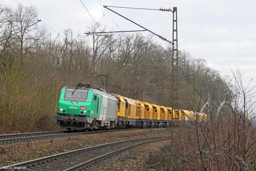 BB37014 mit DGS 92634 Luisenthal(Saar) - Forbach/F (Sdl.), Saarbrücken 30.01.2018