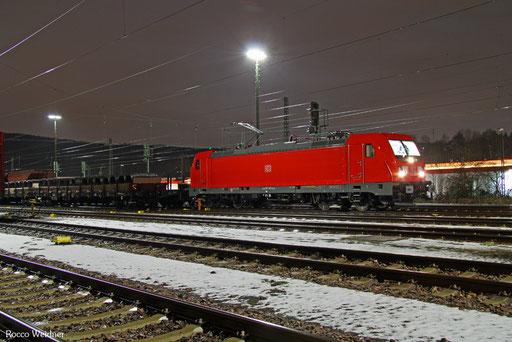 187 109 mit EZ 51925 Saarbrücken Rbf Ost - Mannheim Rbf Gr.M, 11.01.2017