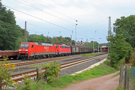 152 114 (140 833) mit EZ 52808 Mannheim Rbf - Saarbrücken Rbf, Dudweiler 29.09.2013