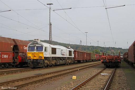77 001 mit EK 55884 Neunkirchen(Saar) Hbf - Saarbrücken Rbf Nord, 14.10.2016