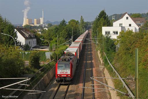 4006 mit DGS 49511 Bettembourg/L - München-Laim Rbf, Saarbrücken-Burbach  27.09.2013
