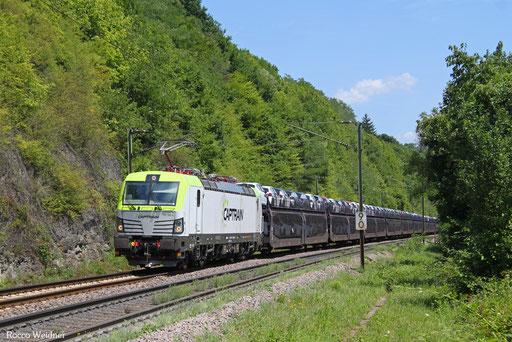 193 782 mit  DGS 46793  (Trnava/SK) Břeclav/CZE - Ehrang Mitte (Sdl.), Völklingen 08.07.2017