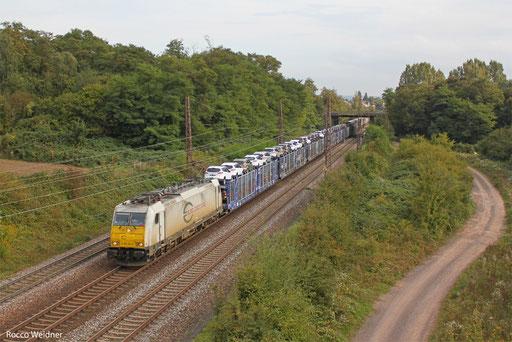 186 304 mit KT 42259 Cerbere/F - Köln-Niehl Hafen, Saarlouis-Roden 04.10.2013
