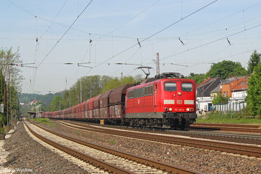 151 129 mit GM 60298 Dillingen Zentrallokerei - Oberhausen West Orm, Dudweiler 23.05.2017