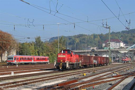 294 885 mit EK 55489 Ulm Rbf - Neu-Ulm, Ulm Hbf 21.09.2017