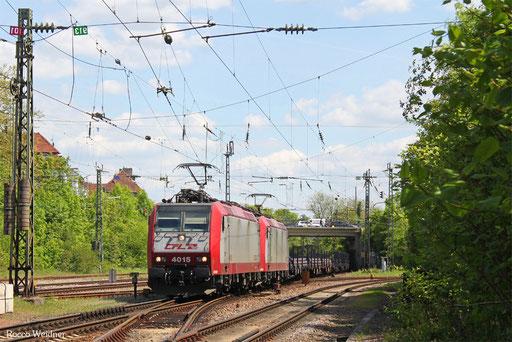 DT 4015 + 4003 mit DGS 48590 Saarbrücken Rbf Nord - Bettembourg/L (Sdl.), SB-Burbach 15.05.2017