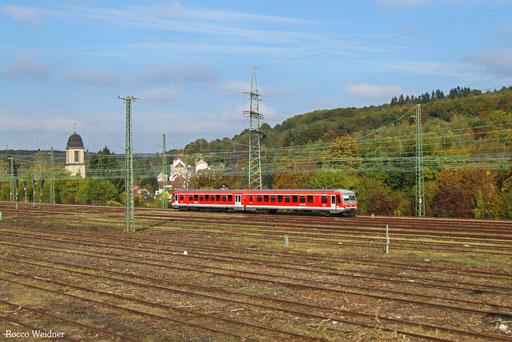 628 474 als RB 12224 Lebach-Jabach - Saarbrücken Hbf, 23.10.2016