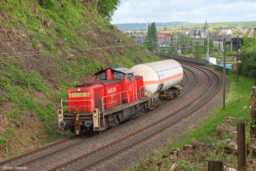 294 812 mit EK 55866 Fürstenhausen - Saarbrücken Rbf Nord (Sdl.) 26.04.2018