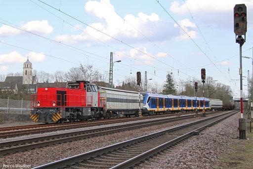 BB61017 mit Dbz 93888 Forbach/F - Luisenthal(Saar) (Sdl.), 28.03.2017