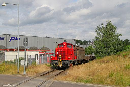 363 679 im Anschluss Drahtwerke St.Ingbert, 11.07.2016