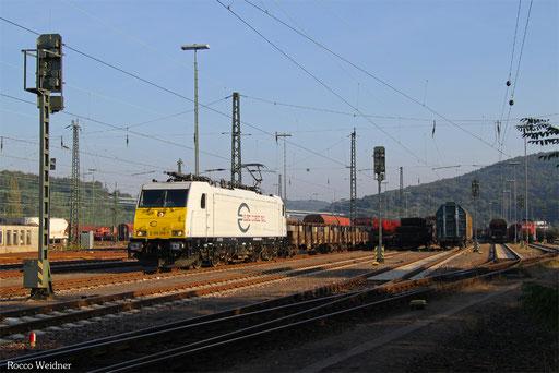 186 306 mit EZ 51919 Saarbrücken Rbf Ost - Mannheim Rbf Gr. M, 24.09.2016